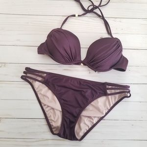 Victoria's Secret Deep Purple Bikini